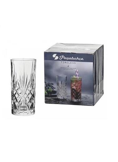 Paşabahçe Timeless Su Bardak - 4 Lü Su Meşrubat Bardağı Özel Seri 52820 Renkli